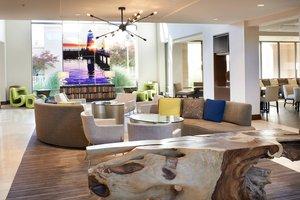 Lobby - Marriott Detroit Metro Airport Hotel Romulus
