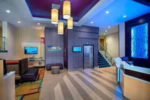 Lobby - Fairfield Inn by Marriott LGA Airport Astoria Queens