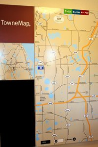 Map - TownePlace Suites by Marriott Orlando