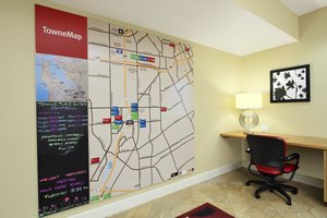 Map - TownePlace Suites by Marriott Campbell