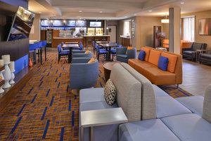 Lobby - Courtyard by Marriott Hotel Suwanee