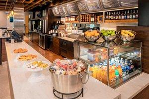 Restaurant - Courtyard by Marriott Hotel Brookline