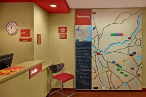 Map - TownePlace Suites by Marriott Tewksbury