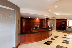 Lobby - Courtyard by Marriott Hotel Schaumburg