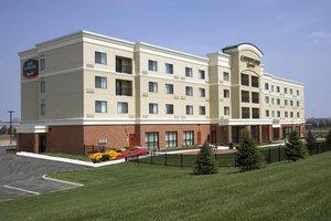 Exterior view - Courtyard by Marriott Hotel University Dayton
