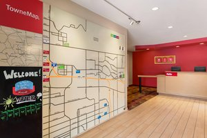 Map - TownePlace Suites by Marriott Airport Fitzsimons Denver