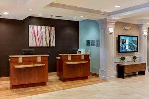 Lobby - Courtyard by Marriott Hotel Cranbury
