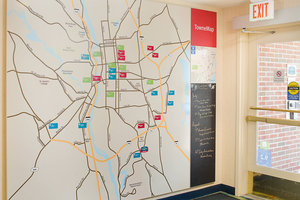 Map - TownePlace Suites by Marriott Manchester