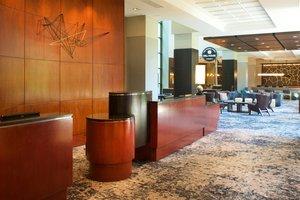 Lobby - Marriott Pittsburgh Airport Hotel Coraopolis