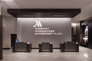 Lobby - Morgantown Marriott at Waterfront Place Hotel
