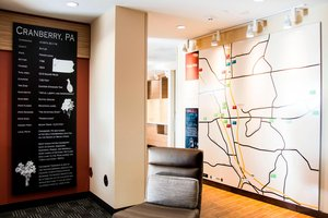 Map - TownePlace Suites by Marriott Cranberry Township