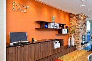 Conference Area - Fairfield Inn & Suites by Marriott Sacramento Airport Woodland