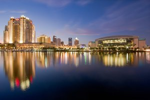 Exterior view - Tampa Marriott Water Street Hotel