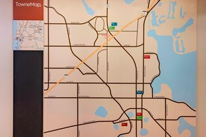 Map - TownePlace Suites by Marriott Lakeland
