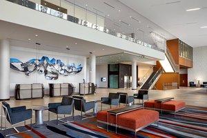 Lobby - Marriott Hotel Airport Calgary