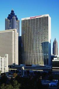 Exterior view - Marriott Marquis Hotel Atlanta