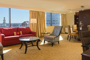 Suite - Marriott Hotel Inner Harbor Baltimore