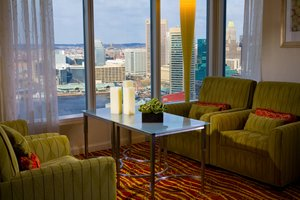 Bar - Marriott Waterfront Hotel Baltimore