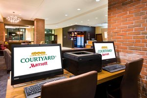Conference Area - Courtyard by Marriott Hotel Downtown Little Rock