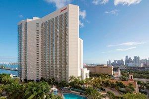 Exterior view - Marriott Biscayne Bay Hotel & Marina Miami
