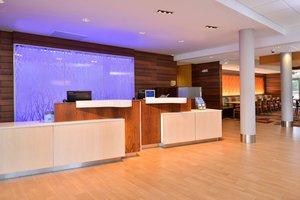 Lobby - Fairfield Inn & Suites by Marriott Calhoun