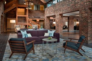Lobby - Marriott Hotel at Forrestal Princeton