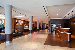 Lobby - Courtyard by Marriott Hotel LAX Airport Los Angeles