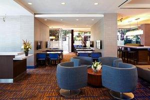 Bar - Courtyard by Marriott Hotel LAX Airport Los Angeles