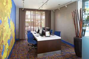 Conference Area - Courtyard by Marriott Hotel LAX Airport Los Angeles