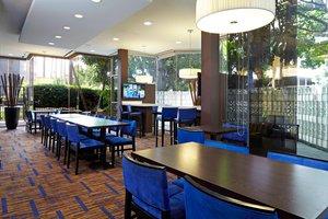 Restaurant - Courtyard by Marriott Hotel LAX Airport Los Angeles