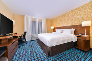 Room - Fairfield Inn & Suites Coralville