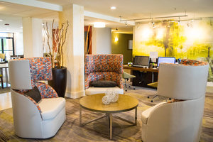 Lobby - Courtyard by Marriott Hotel Laredo
