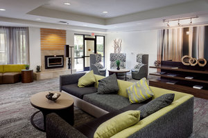 Lobby - Courtyard by Marriott Hotel Stockton