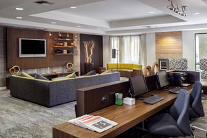 Conference Area - Courtyard by Marriott Hotel Stockton