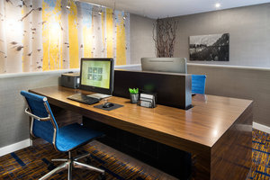 Conference Area - Courtyard by Marriott Hotel at Stapleton Denver