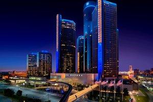 Exterior view - Marriott Hotel at Renaissance Center Detroit