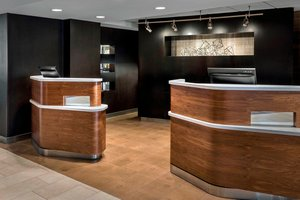 Lobby - Courtyard by Marriott Hotel Jersey City