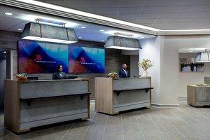 Lobby - Marriott Hotel Washington DC