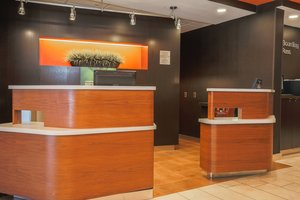 Lobby - Courtyard by Marriott Hotel Flint