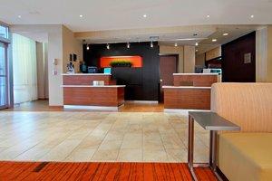 Lobby - Courtyard by Marriott Hotel Meadowlands Lyndhurst