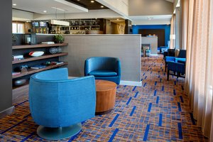 Lobby - Courtyard by Marriott Hotel Andover