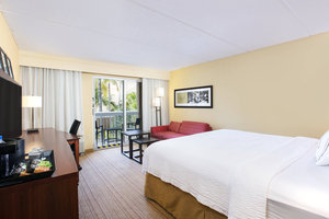 Room - Courtyard by Marriott Hotel Aventura Mall
