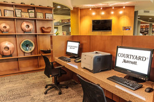 Conference Area - Courtyard by Marriott Hotel New Braunfels
