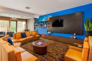 Lobby - Courtyard by Marriott Hotel Fairfield