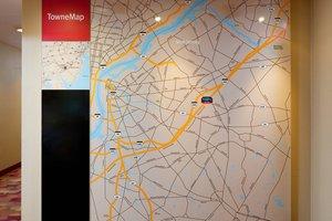 Map - TownePlace Suites by Marriott Mt Laurel