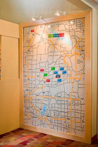 Map - TownePlace Suites by Marriott Bedford