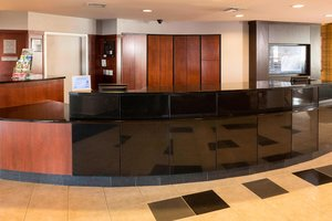 Lobby - Courtyard by Marriott Hotel Sioux Falls