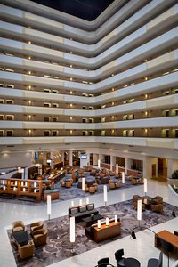 Lobby - Marriott Hotel Hobby Airport Houston