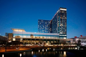 Exterior view - Marriott Marquis Hotel Convention Center Houston
