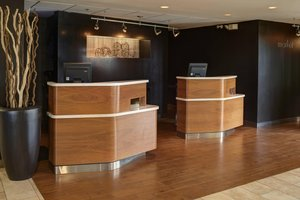 Lobby - Courtyard by Marriott Hotel Airport Indianapolis